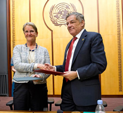 Framework of cooperation between G77 and UNITAR signed