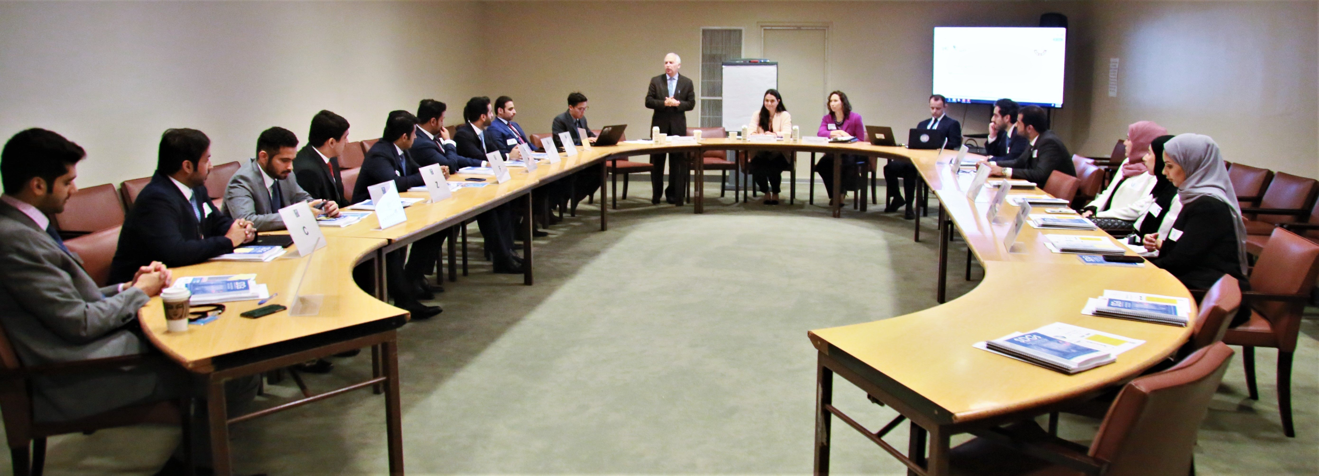 UNITAR HOSTS THE INDUCTION COURSE FOR QATAR DIPLOMATS