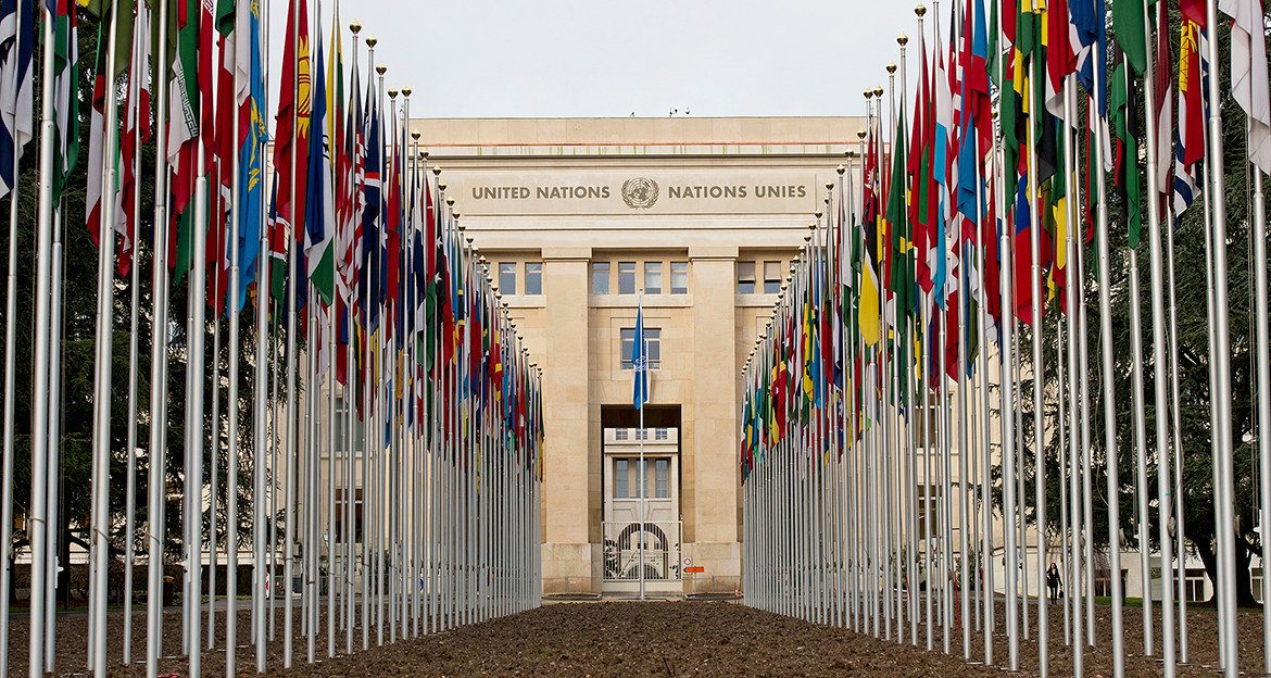 Palais des Nations, UN Photo / Mark Garten