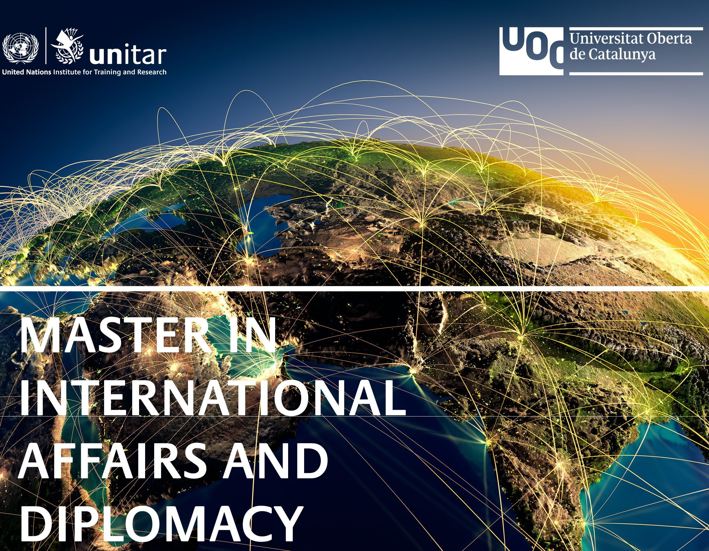 Online Master in International Affairs and Diplomacy