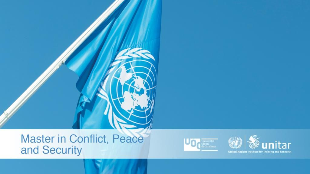 Master in Conflict, Peace and Security | UNITAR