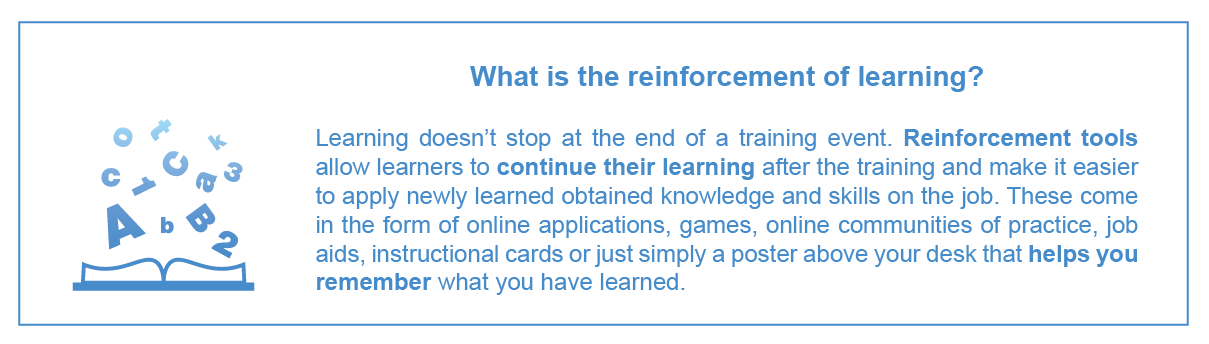 Reinforcement of Learning