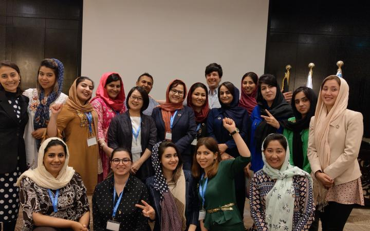 Women's Leadership Programme for Afghanistan 2019 Particiapnts