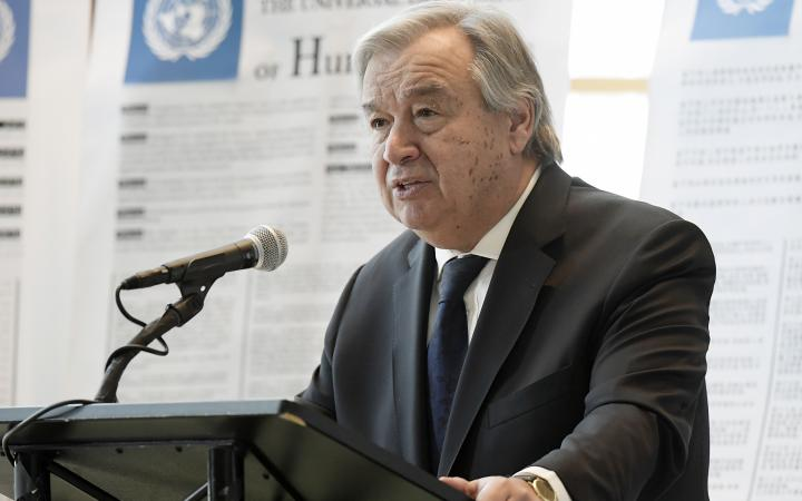 Secretary-General António Guterres - Human Rights
