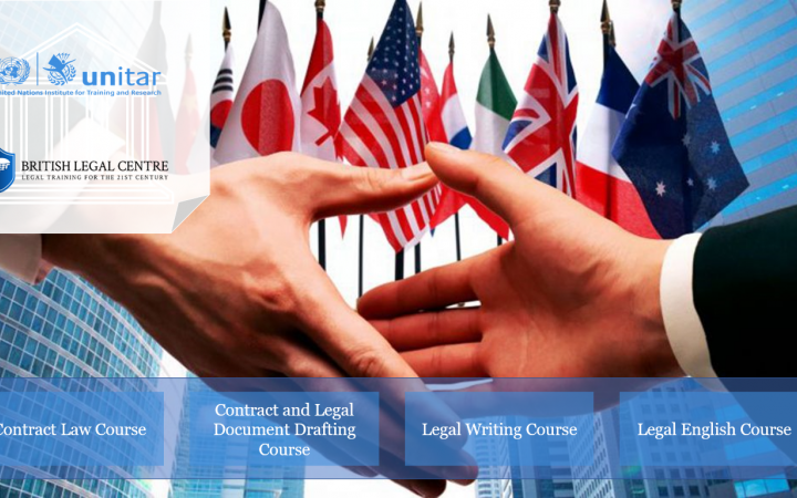 The British Legal Centre and UNITAR have created a system where both organizations' audiences may be introduced to further opportunities to advance their skills, networks, and careers
