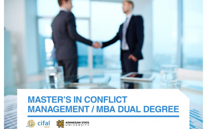 Master's in Conflict Management / MBA Dual Degree