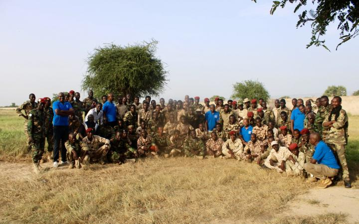 Training in Chad