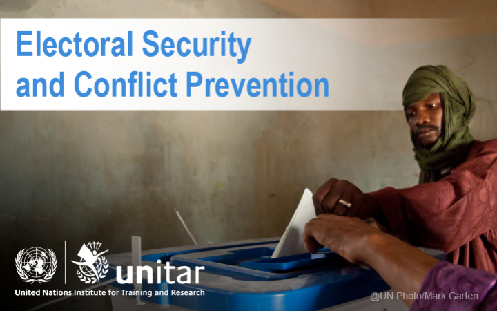 Electoral Security and Conflict Prevention
