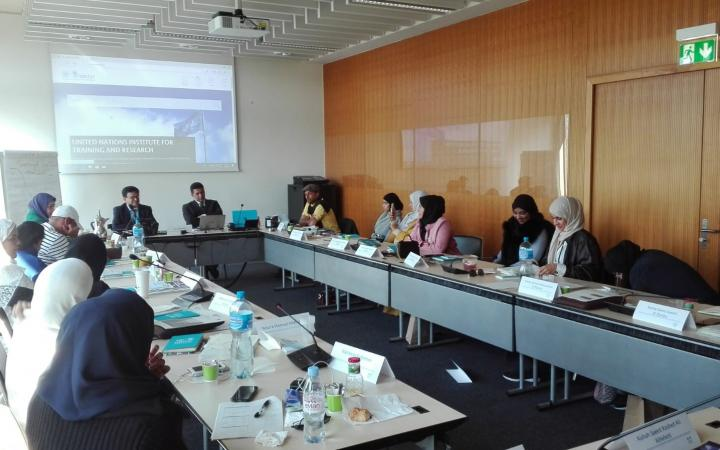 UNITAR delivers its first module in the International Leaders Programme