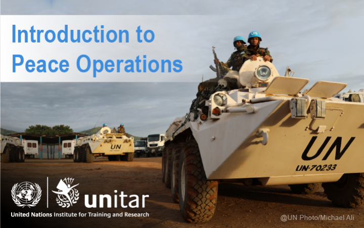 Introduction to Peace Operations