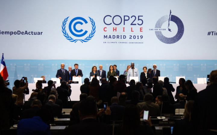 The official opening ceremony of the high-level segment of COP 25/CMP