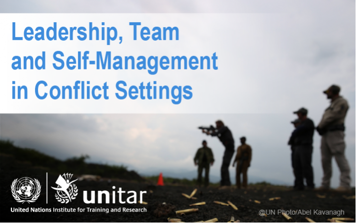 Leadership, Team and Self-Management in Conflict Settings