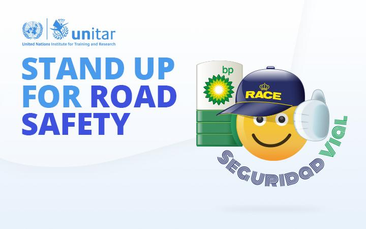 Stand Up for Road Safety Emoji Campaign