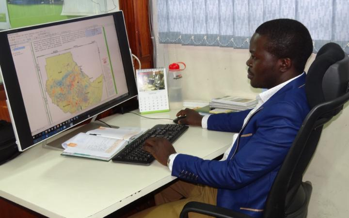 Helping Farmers with GIS for Better Harvests and Improved Use of Grazing Lands for Cattle