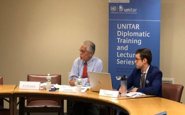 UNITAR Delivers Workshop on Climate Change and the Paris Agreement