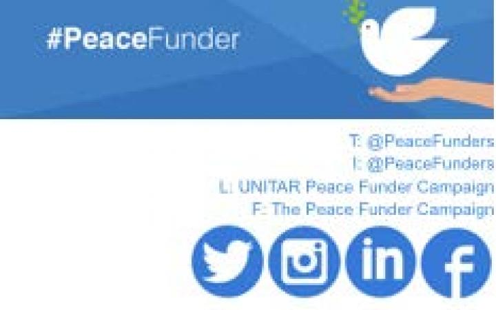 #PeaceFunder Programme