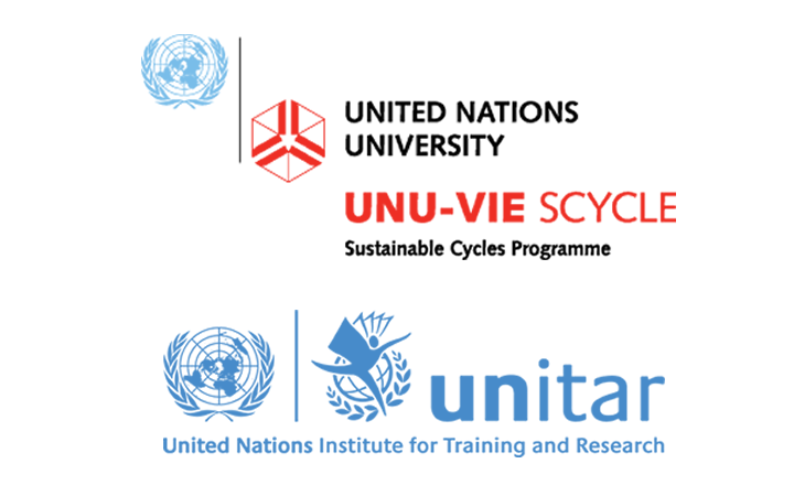 UNU-Hosted SCYCLE and UNITAR logos