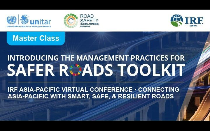 Master Class on Management Practices for Safer Roads