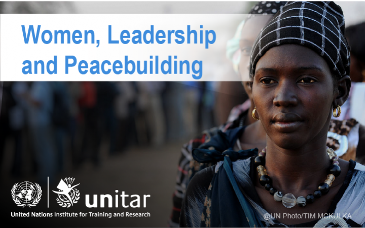 Women, Leadership and Peacebuilding