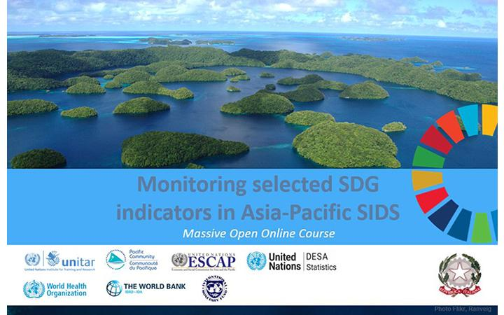 Banner_Monitoring selected SDG indicators in the Asia-Pacific SIDS