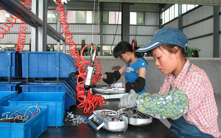 Formal e-waste processing in China