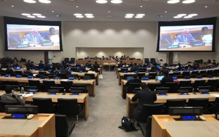 "ECOSOC adopts a draft resolution entitled ""United Nations Institute for Training and Research"" (E/2019/L.12)"