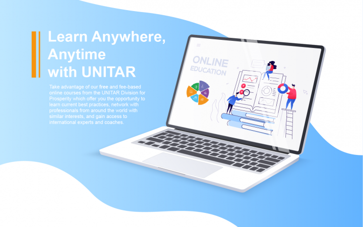 E-learning with UNITAR