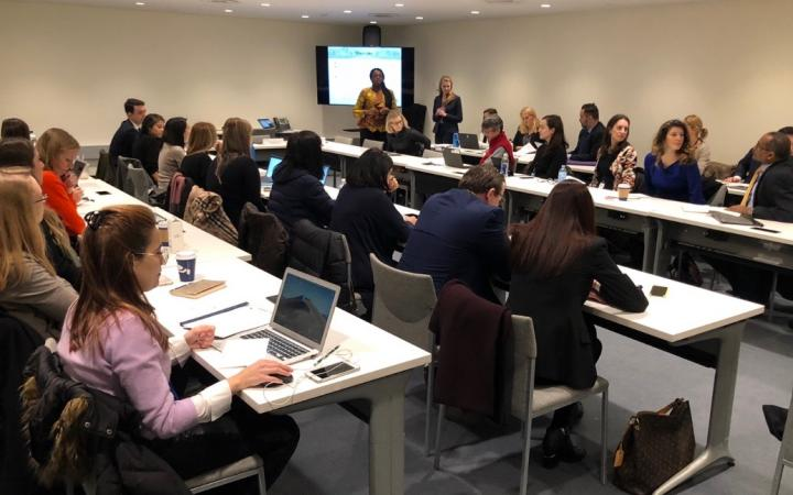 UNITAR Delivers Workshop with Columbia Law School on Women's Leadership & Negotiation Skills
