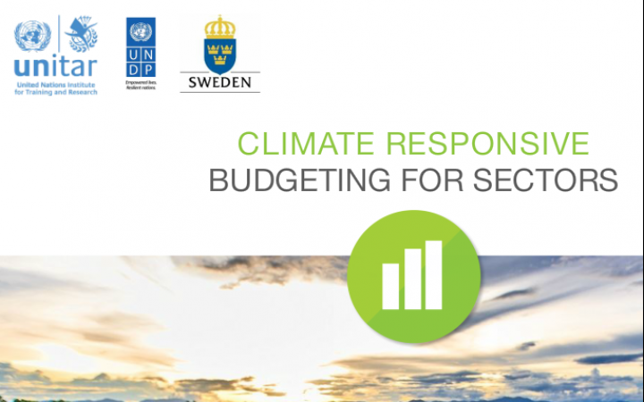 e-Tutorial on Climate Responsive Budgeting