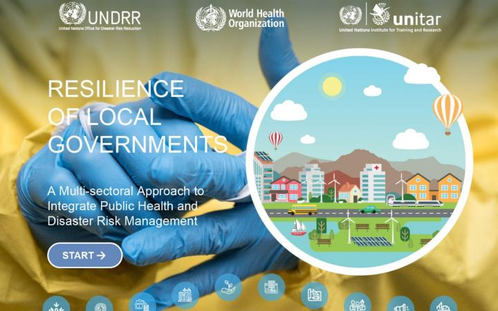 Resilience of Local Governments: A multi-sectoral approach to integrate public health and disaster risk management