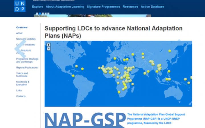 National Adaptation Planning for LDCs