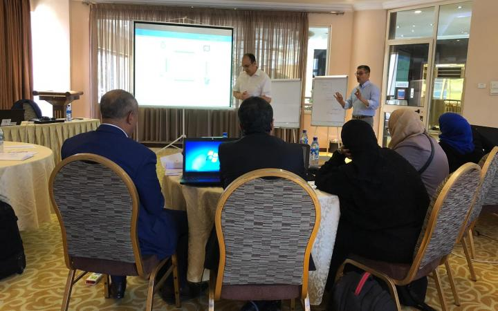 OHCHR and UNOSAT are Building Yemen Human Rights Experts' Capacities