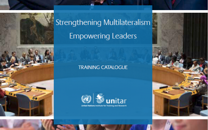 Multilateral Diplomacy catalogue