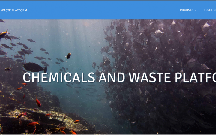 Chemicals and Waste platform