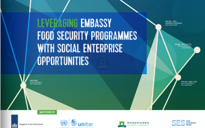 Leveraging Embassy Food Security Programmes With Special Enterprise Opportunities