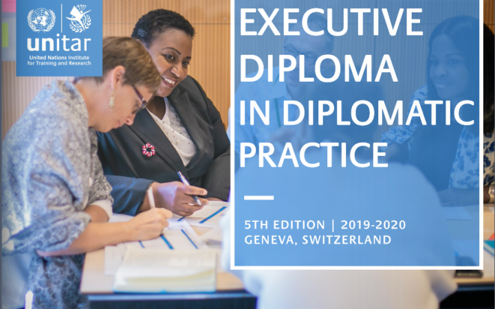 Executive Diploma in Diplomatic Practice - 5th Edition