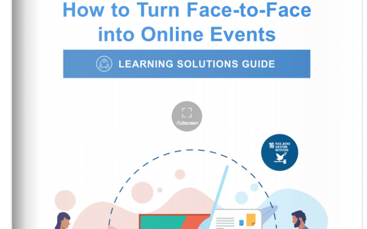 Learning Solutions Guide - How to Turn Face-to-FAce into Online Events