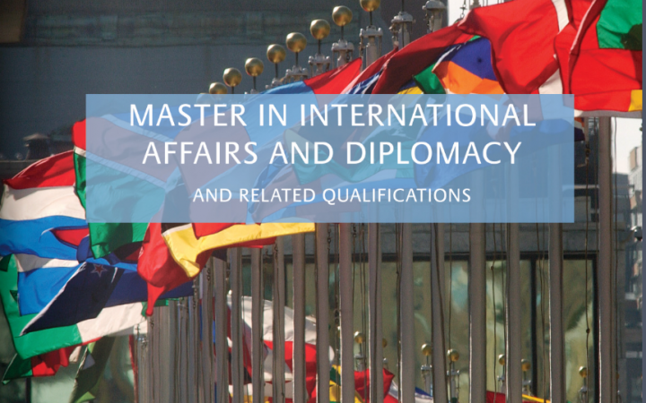 Master in International Affairs and Diplomacy