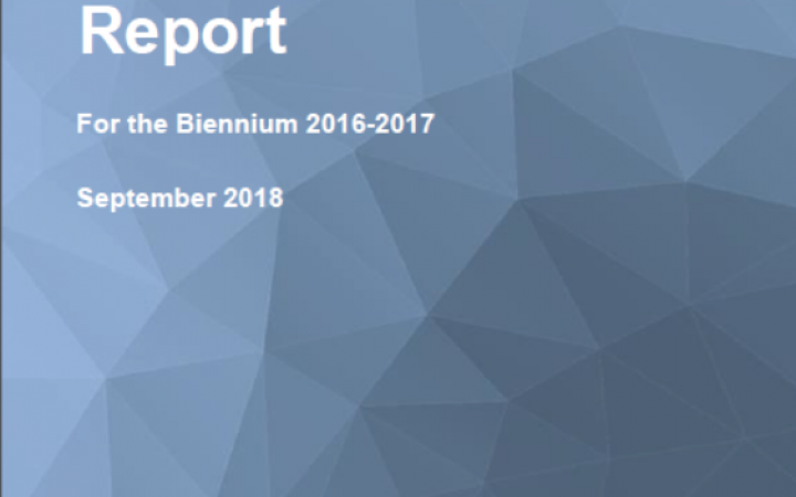 Report For the Biennium 2016-2017