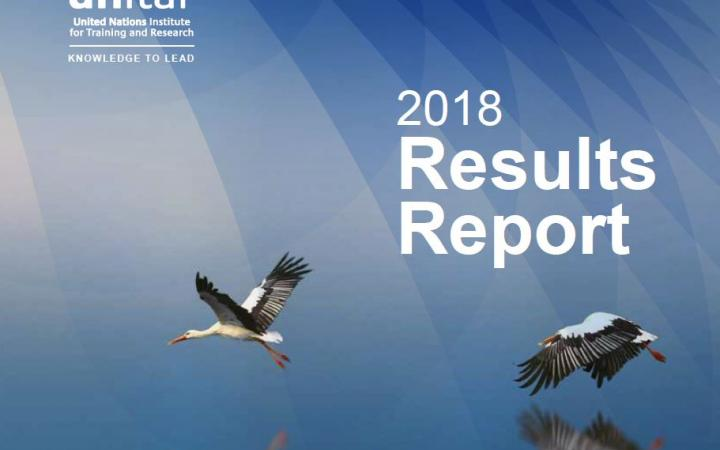2018 Results Report