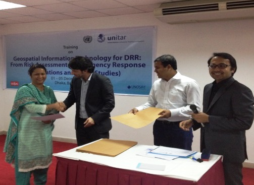 UNOSAT completes in-country training for Bangladesh
