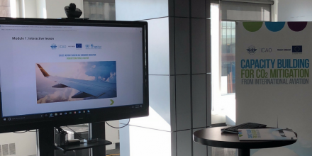 New e-Tutorial on CO2 Emission Reduction in the Aviation Sector was presented at green Airports seminar held in Montreal, Canada