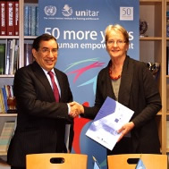 BADEA and UNITAR partnership