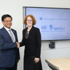 UNITAR and Columbia Law School Sign Memorandum of Understanding