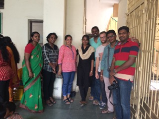 Team members from CIFAL Bengaluru, ACTS Groups of Institutions and the Praise Foundation