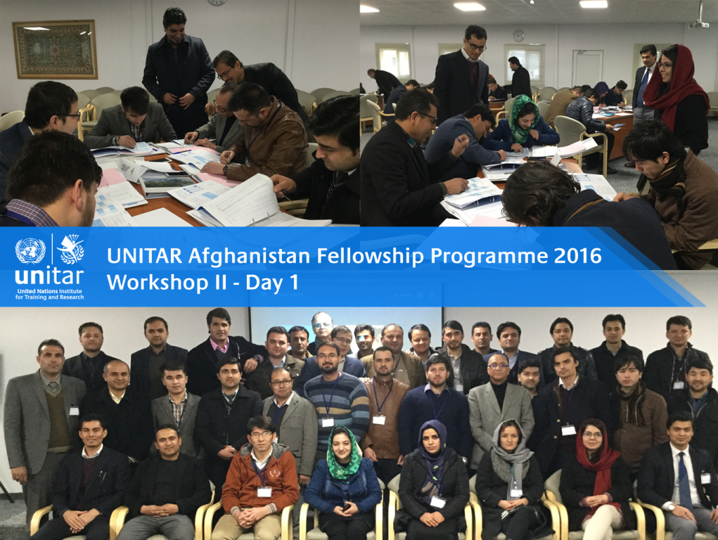 UNITAR AFP Workshop II
