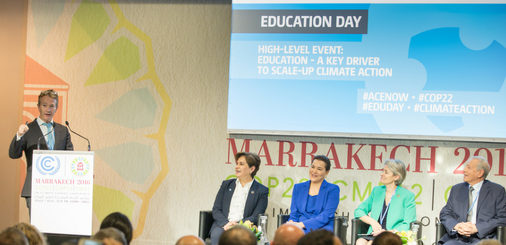 Panelists of High-Level Event: Climate Education as a Driver of Change