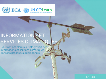 The e-Tutorial on Climate Information and Services