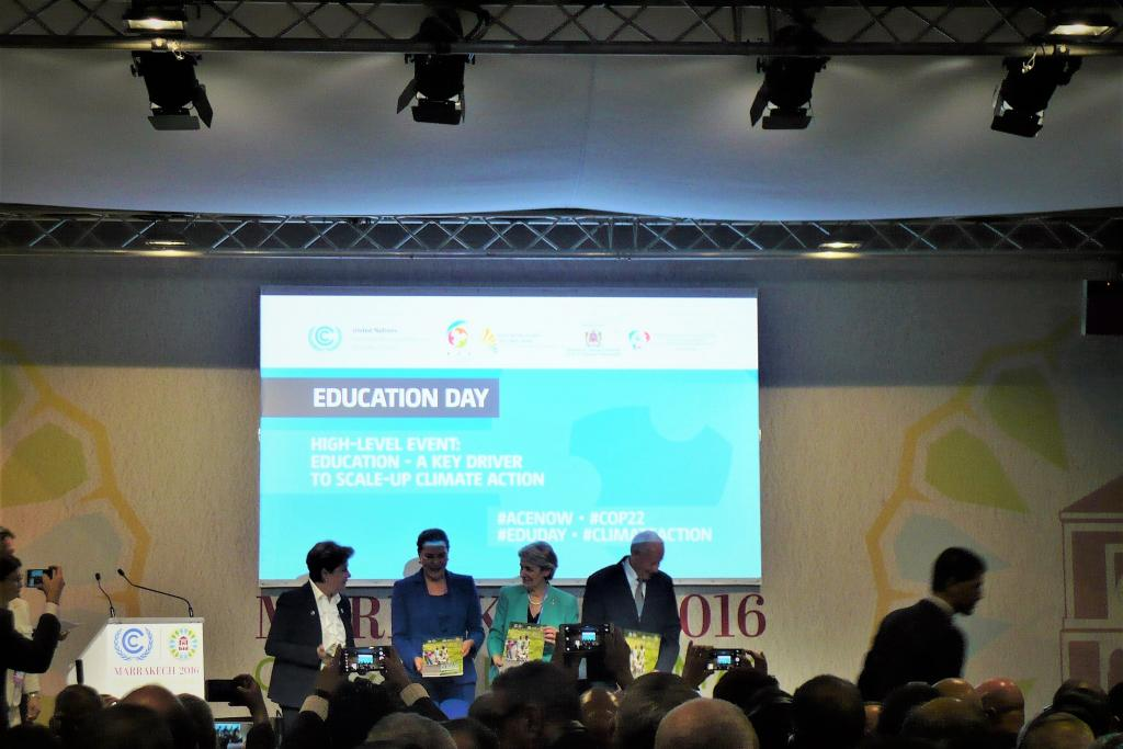 Panelists of High-Level Event: Climate Education as a Driver of Change 2