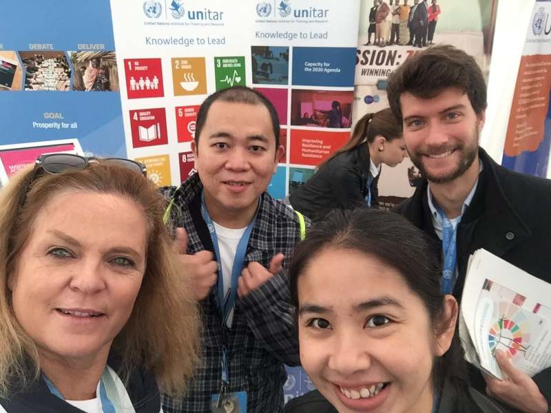UNITAR participation in the UNOG Open Day 2017